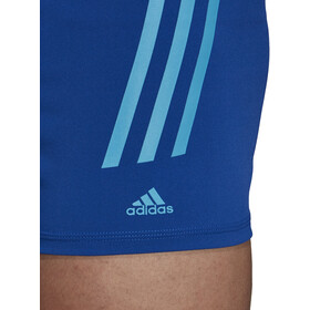 adidas Pro 3-Stripes Boxer Hombre, collegiate royal/shock cyan